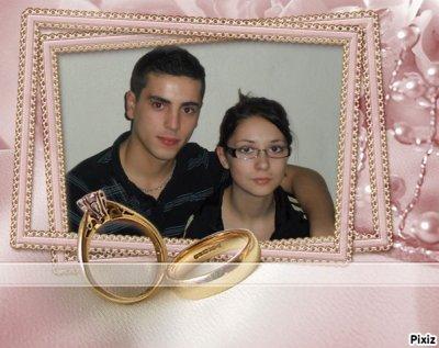 ma femme et moa