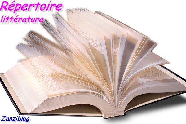 Répertoire des blogs de littérature