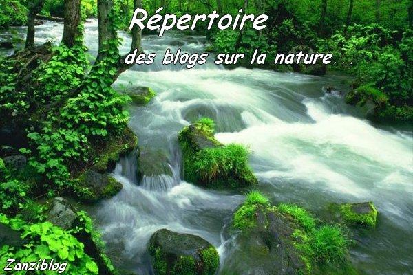 Répertoire des blogs sur la nature