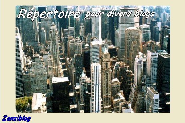 Répertoire pour Divers blogs