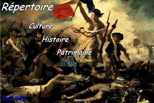 Répertoire des blogs sur l'Histoire, Culture et Patrimoine