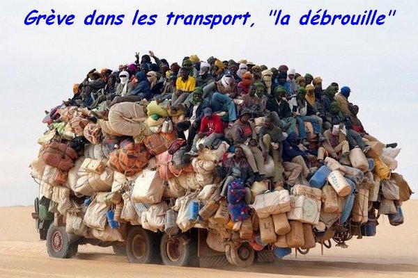 """Grève dans les transports """" la débrouille """""""