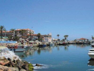 promenade sur le port de st cyprien