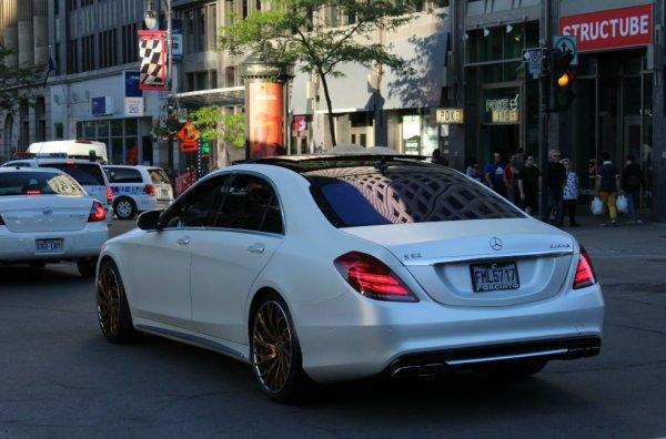 Mercedes-Benz S63 AMG W222