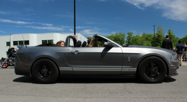 Ford Mustang Shelby GT500 Convertible 2012