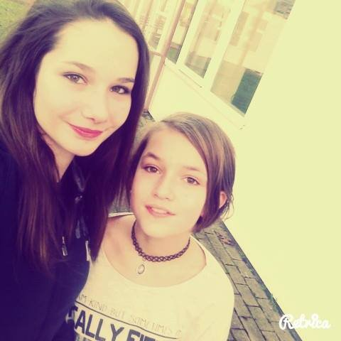 Moi et ma meilleure amie Océane !