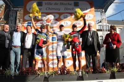 Reinardt Janse van Rensburg remporte Binche - Chimay - Binche !...
