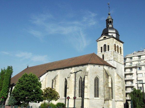 Images de Haute-Savoie : L'Eglise Saint-Maurice à Annecy !...