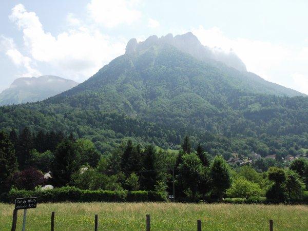 Images de Haute-Savoie : Le Col de Bluffy !...