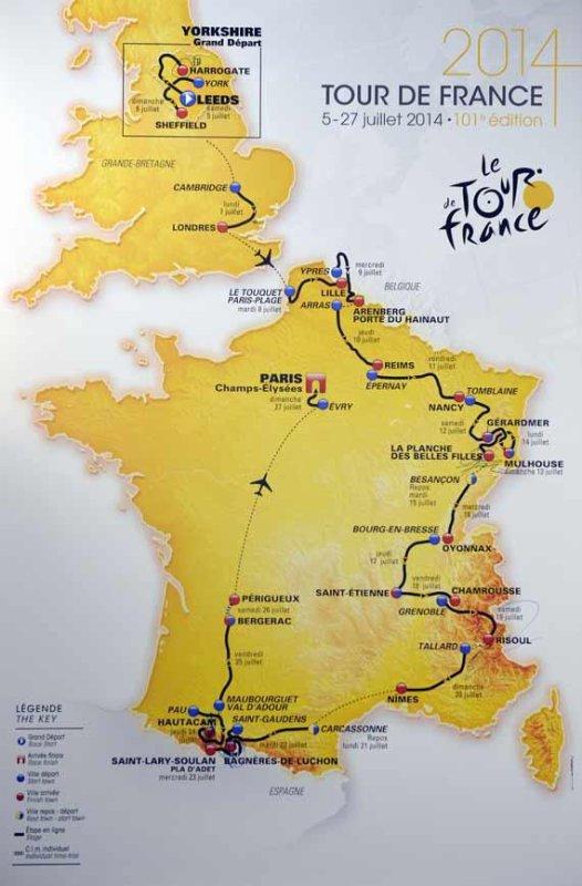 Le 101 ème Tour de France a été présenté, officiellement !...