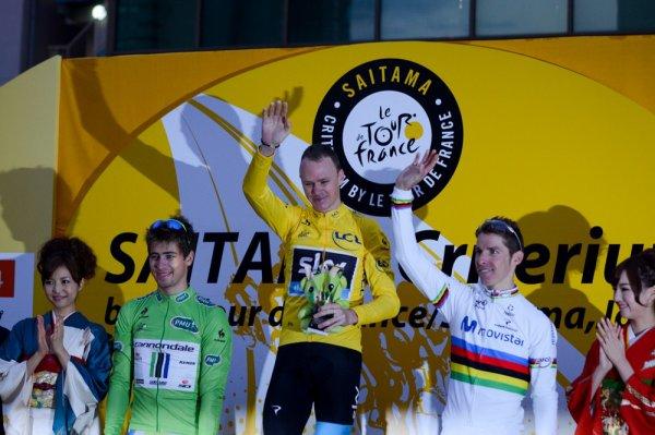 Christopher Froome remporte le 1 er Critérium de Saitama !...