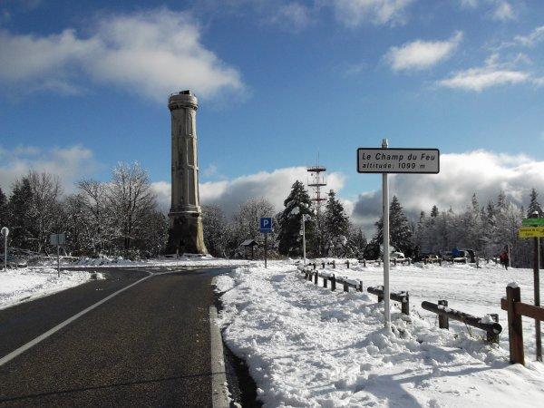 Images du Bas-Rhin : Le Champ du Feu !...