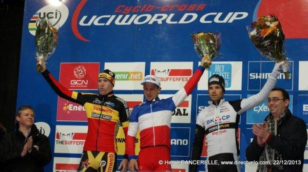 Francis Mourey remporte la 4 ème manche de la Coupe du Monde de Cyclo-Cross, à Namur, en Belgique !...