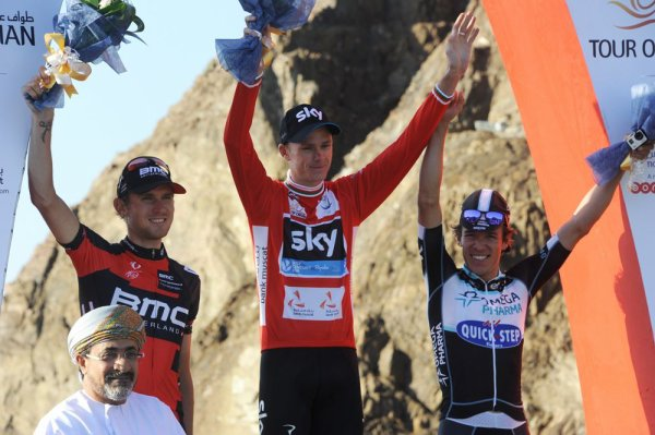 Christopher Froome remporte le 5 ème Tour d'Oman !...