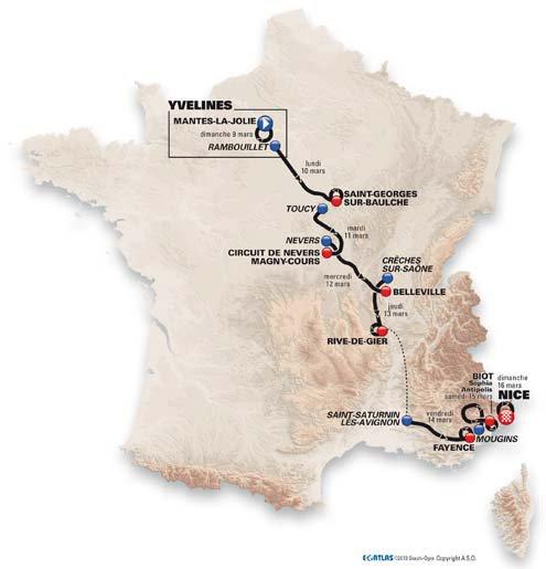 Paris - Nice débute aujourd'hui !...