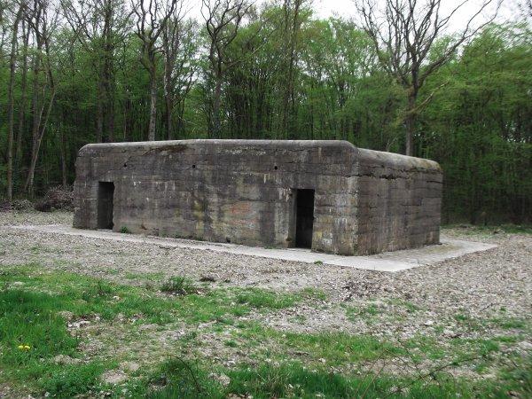 Images du Haut-Rhin : Le bunker de Reiningue !...