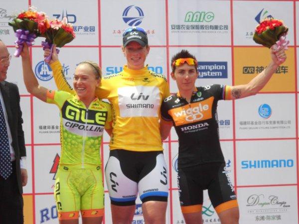 Kirsten Wild remporte le Tour de l'Île de Chongming !...