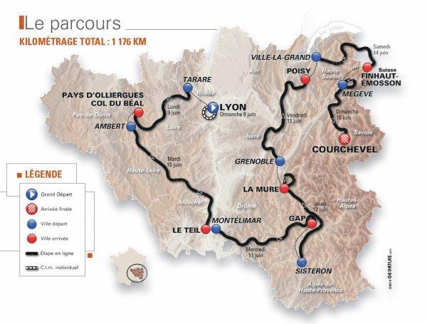 Le 66 ème Critérium du Dauphiné débute aujourd'hui !...