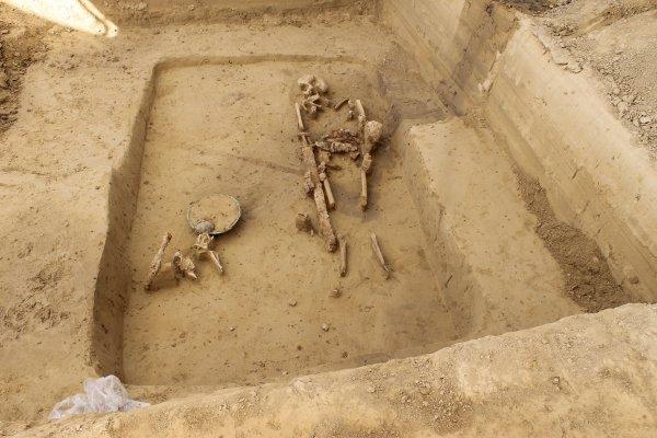 Images du Haut-Rhin : L'ensemble funéraire mérovingien de Merxheim !...