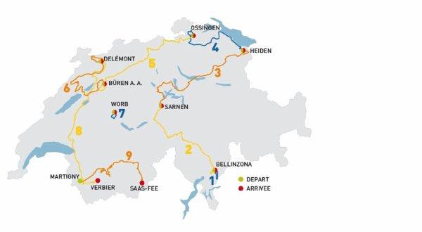 Le 78 ème Tour de Suisse a débuté, hier !...