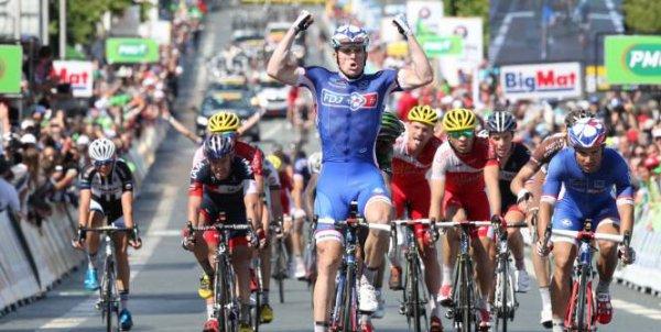 Arnaud Démare, Champion de France sur Route !...
