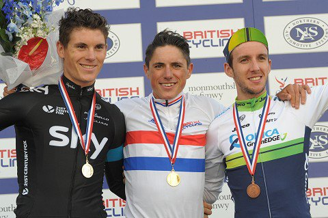 Peter Kennaugh, Champion de Grande-Bretagne sur Route !...