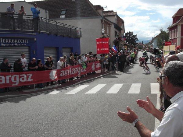Le 101 ème Tour de France de passage à Wittelsheim !...