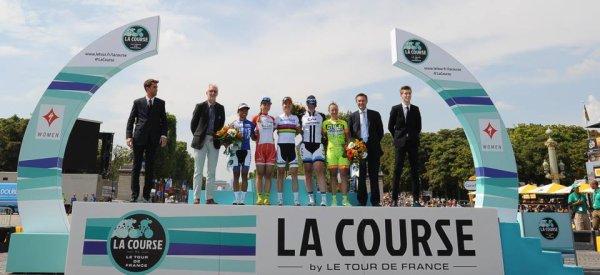 Marianne Vos remporte la 1 ère « Course by Le Tour de France » !...