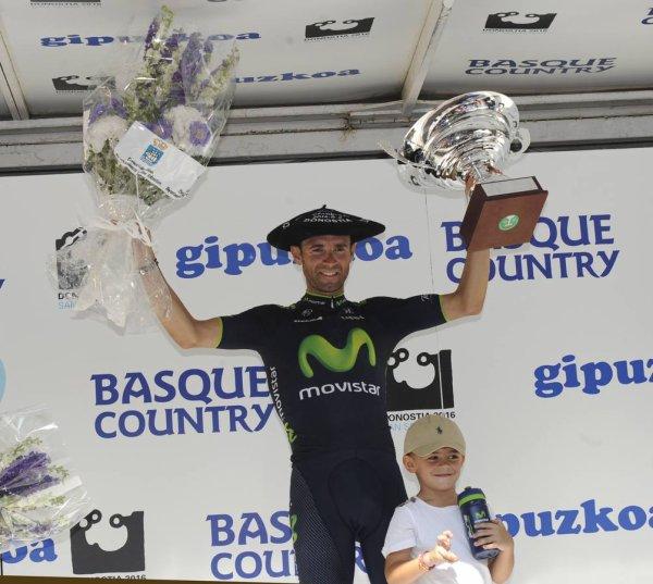Alejandro Valverde remporte la 34 ème « Clásica San Sebastián » !...