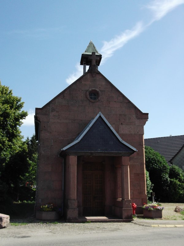 Images du Haut-Rhin : La Chapelle Saint Wandrille de Labaroche !...