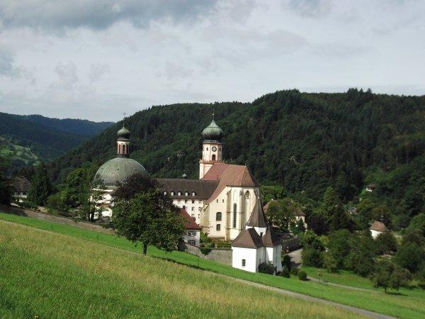 Images d'Allemagne : L'Abbaye Saint Trudpert à Münstertal !...