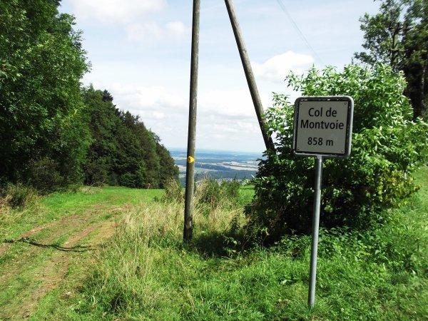 Contre-la-montre individuel du Col de Montvoie, à Fontenais, en Suisse !...