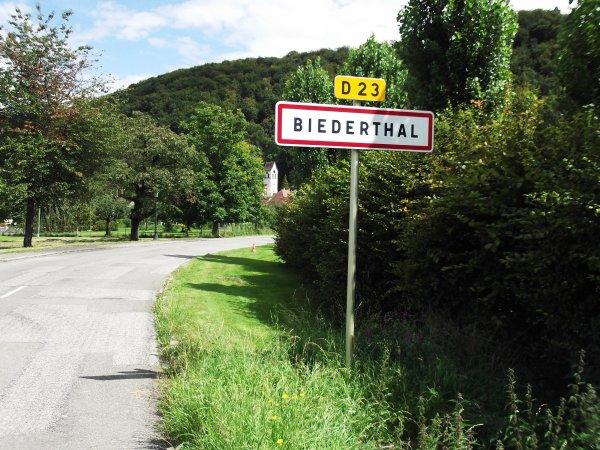 1 ère Grimpée de la Langematte, à Biederthal (FSGT) !...