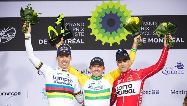 Simon Gerrans remporte le 5 ème Grand Prix Cycliste de Montréal !...