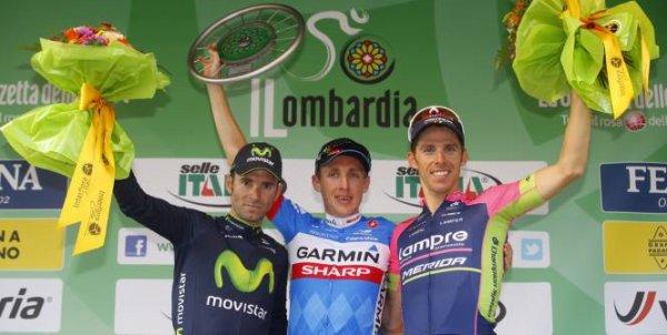 Daniel Martin remporte le 108 ème Tour de Lombardie !...