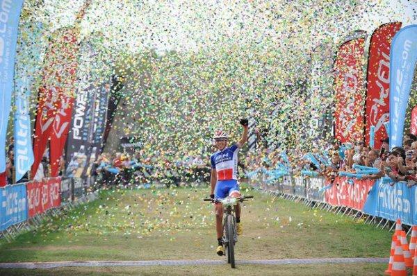 Jordan Sarrou remporte le 31 ème Roc d'Azur !...