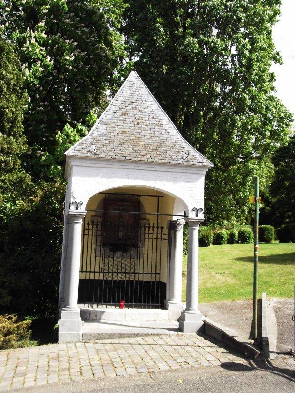 Images de Belgique : Le « Mur de Huy », à Huy !...