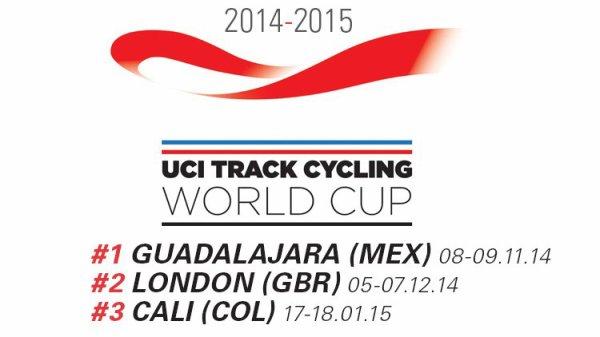 1 ère manche de la Coupe du Monde de Cyclisme sur Piste, à Guadalajara, au Mexique !...
