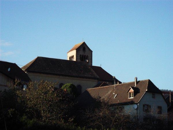 Images du Haut-Rhin : L'église Saint-Etienne d'Osenbach !...