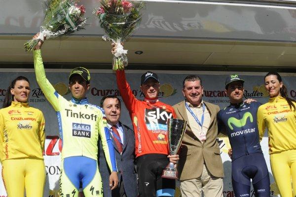 Christopher Froome remporte le 61 ème Tour d'Andalousie !..