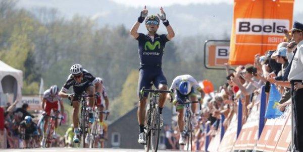 Alejandro Valverde remporte la 79 ème Flèche Wallonne !...