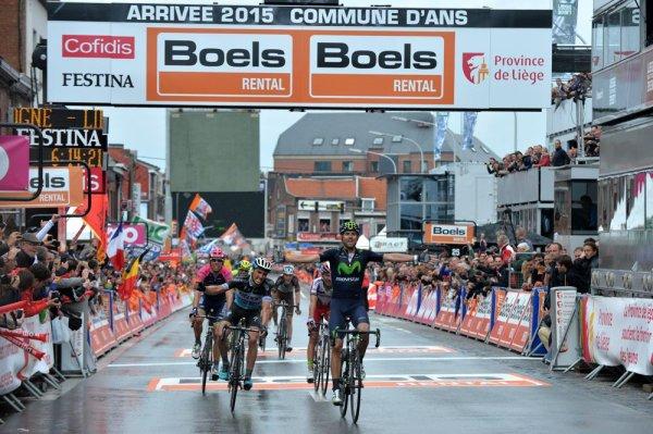 Alejandro Valverde remporte le 101 ème Liège - Bastogne - Liège !...