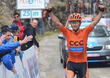 Maciej Paterski remporte le 10 ème Tour de Croatie !...