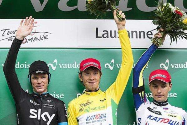 Ilnur Zakarin remporte le 69 ème Tour de Romandie !...