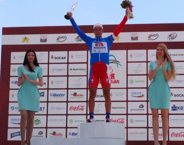 Primoz Roglic remporte le 4 ème Tour d'Azerbaïdjan !...