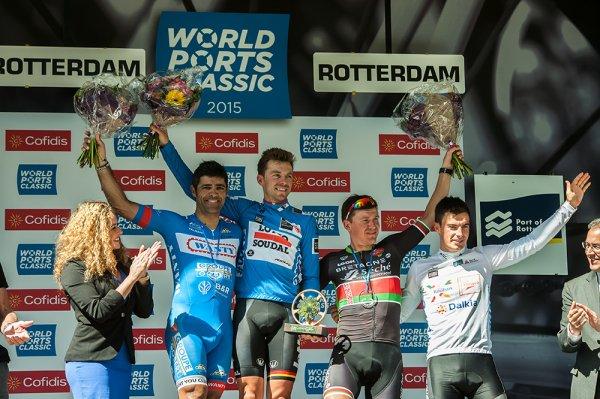Kris Boeckmans remporte la 4 ème « World Ports Classic » !...