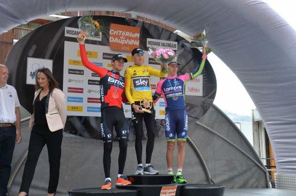 Christopher Froome remporte le 67 ème Critérium du Dauphiné !...