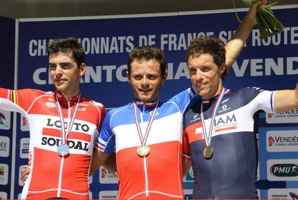 Cyclisme sur Route : Pauline Ferrand-Prévot, Championne de France, et, Steven Tronet, Champion de France !...