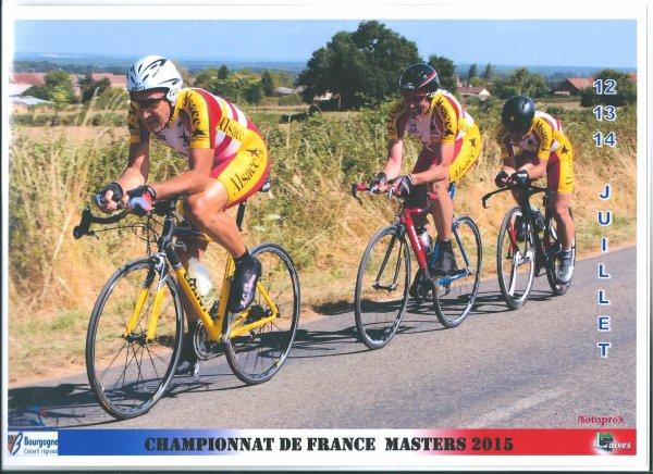 Championnats de France Masters de Cyclisme sur Route (FFC - Fédération Française de Cyclisme), à Laives, en Saône-et-Loire (Bourgogne) !...
