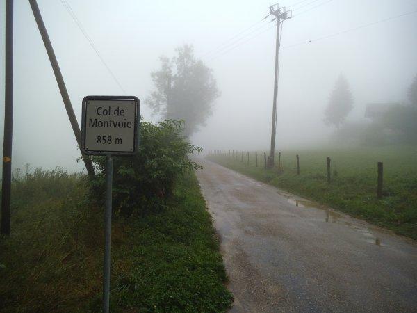 Contre-la-montre individuel du Col de Montvoie, à Fontenais, près de Porrentruy, en Suisse !...